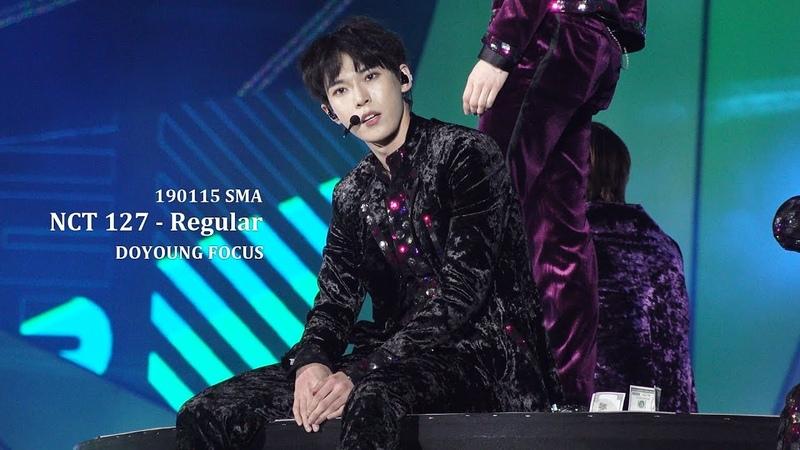 190115 서울가요대상 NCT 127 - ' Regular ' 도영 DOYOUNG FOCUS