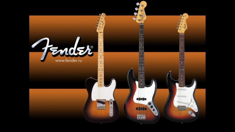 комбинация трех гитарных видео