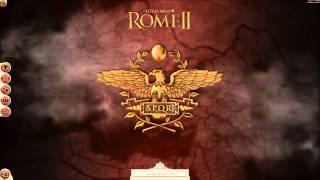 Total War Rome 2 - Main menu