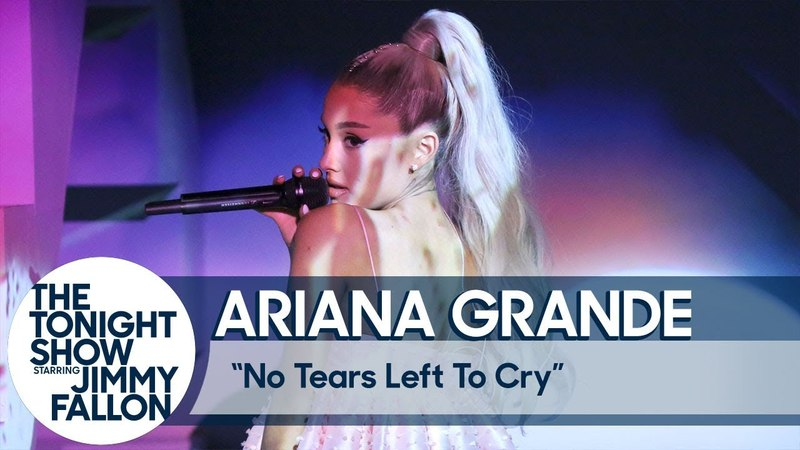 Ariana Grande: No Tears Left to Cry (TV Debut)