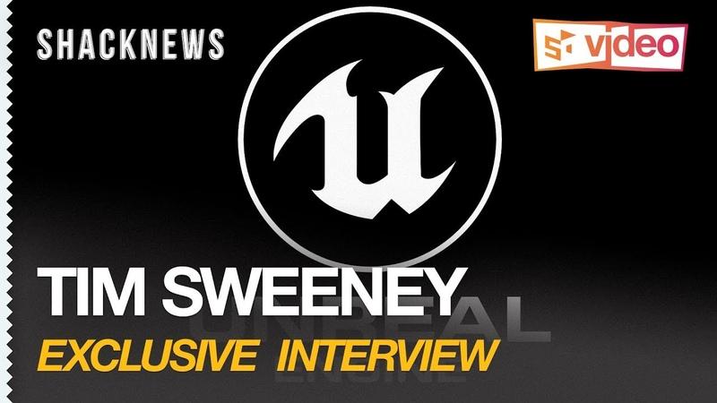 Tim Sweeney Talks AR, VR, UE4, and Fortnite