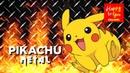 Pikachu Goes Metal Headbang Challenge - Pokemon Djent Metal