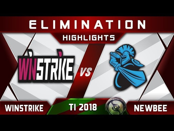 Winstrike vs Newbee TI8 ACTION The International 2018 Highlights Dota 2