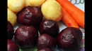 Как Запечь Овощи в Духовке для Винегрета Селедки под Шубой и других салатов Вкусно и Полезно