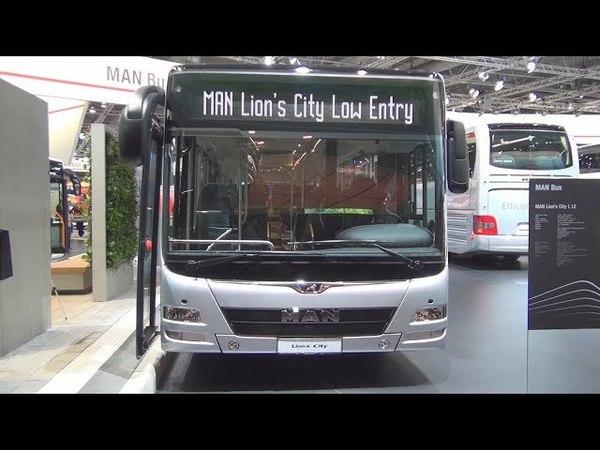 MAN Lion's City L LE Bus (2017) Exterior and Interior