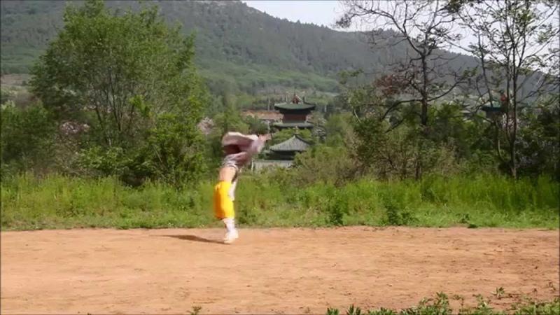 Drunken style with Shifu Shi Yan Jun, 34th Generation Shaolin Warrior Monk