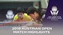 Tomokazu Harimoto vs Jun Mizutani I 2018 ITTF Austrian Open Highlights (R16)