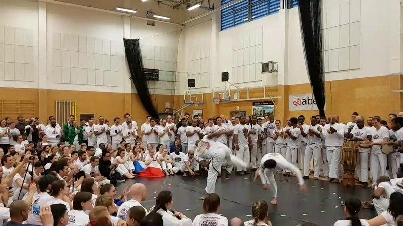 ABADÁ Capoeira Jogos Europeus 2017 Roda de Professores