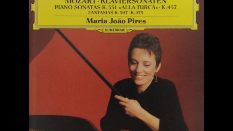 Mozart Piano Sonata No.11 In A Major K.331/Maria João Pires
