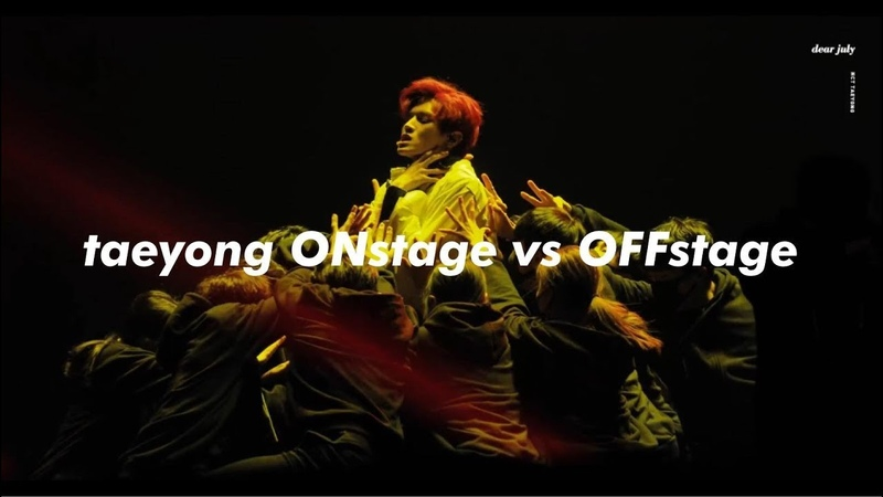 Taeyong ONstage vs OFFstage
