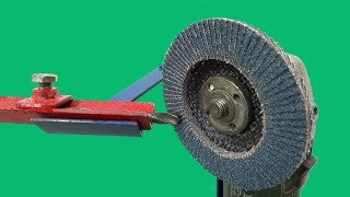Awesome ANGLE GRINDER Hack | Make a Sharpen Drill Bits