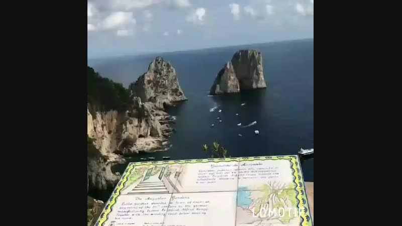 Прекрасное видео с острова Капри от наших любимых туристов