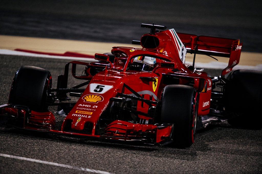 Себастьян Феттель - лидер чемпионата Ф1 после гран-при Бахрейна