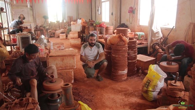 Уникальные ремесла Китая. Пурпурная керамика. Юньнань, город Цзяньшуй.