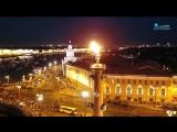 Гимн городу, канатоходец над Дворцовым и живой звук