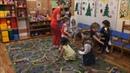 Подвижная игра Кошка и мышки . Детский сад Весёлые ребята