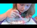 Слайм из нескольких клеев шампуня и тетробоната натрия Diy Slime Видео для детей Video for kids