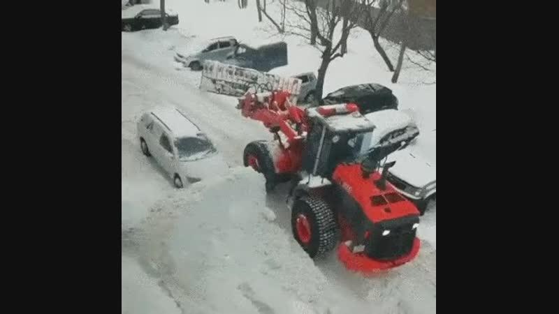 снежка подсыпал