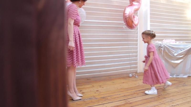 Детское день рождение Ариночке 5 лет клип (видеограф Эмиль Халимов)