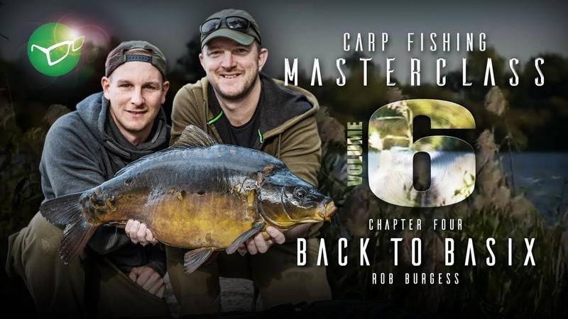 Korda Carp Fishing Masterclass Vol 6 Back To Basix Pt 2 Rob Burgess 2019