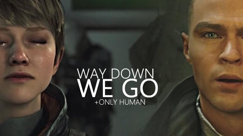 Way Down We're Human | Detroit: Become Human [GMV]