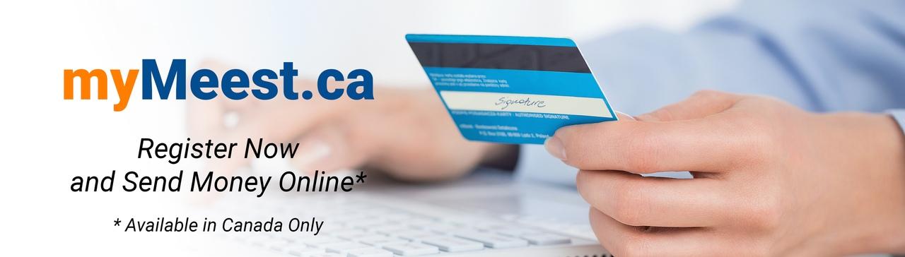 Online Money Transfers Meest mymeest Canada