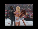 WWE Monday Night Raw 9th September 2002 - 3-Minute Warning attacked the Lesbians
