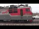 Электровоз ВЛ80с 318 С грузовым поездом Вос Сиб жд