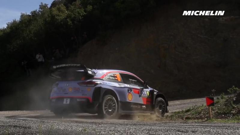 WRC 2018 - 04 Rallye de France Highlights