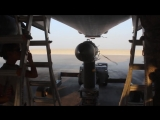 Подвеска бомб GBU-31 в бомбардировщик B-1B Lancer