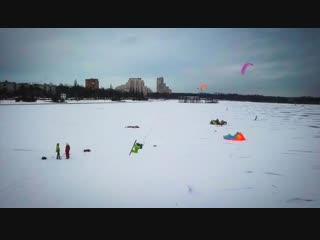 Сноукайтинг в Санкт-Петербурге 2019