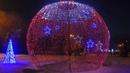 Новогодние огни Караганды на Каскадной площади