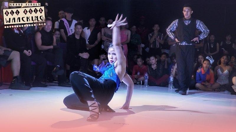 Danzel (INA) vs Yoon Ji (KR) | Top4 | AAWF 2018 Grand Finals Bali, Indonesia by Etoile Dance
