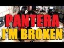 Pantera - I'm Broken - Drum Cover(Glen Monturi) **RIP VINNIE PAUL**