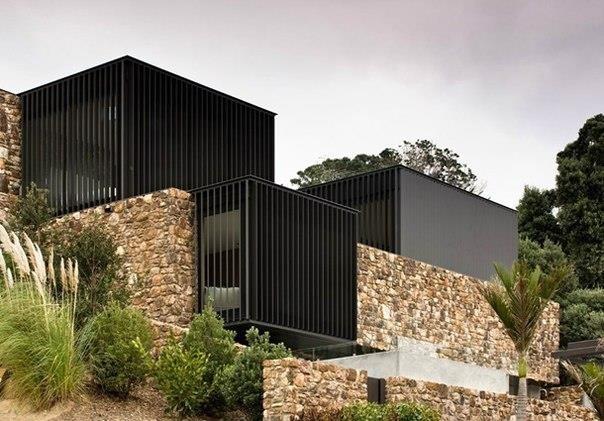 Каменная резиденция в Новой Зеландии