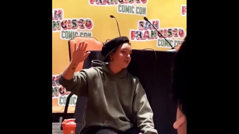 Камрен Бикондова на «San Francisco Comic Con» (09.06.2018) 3