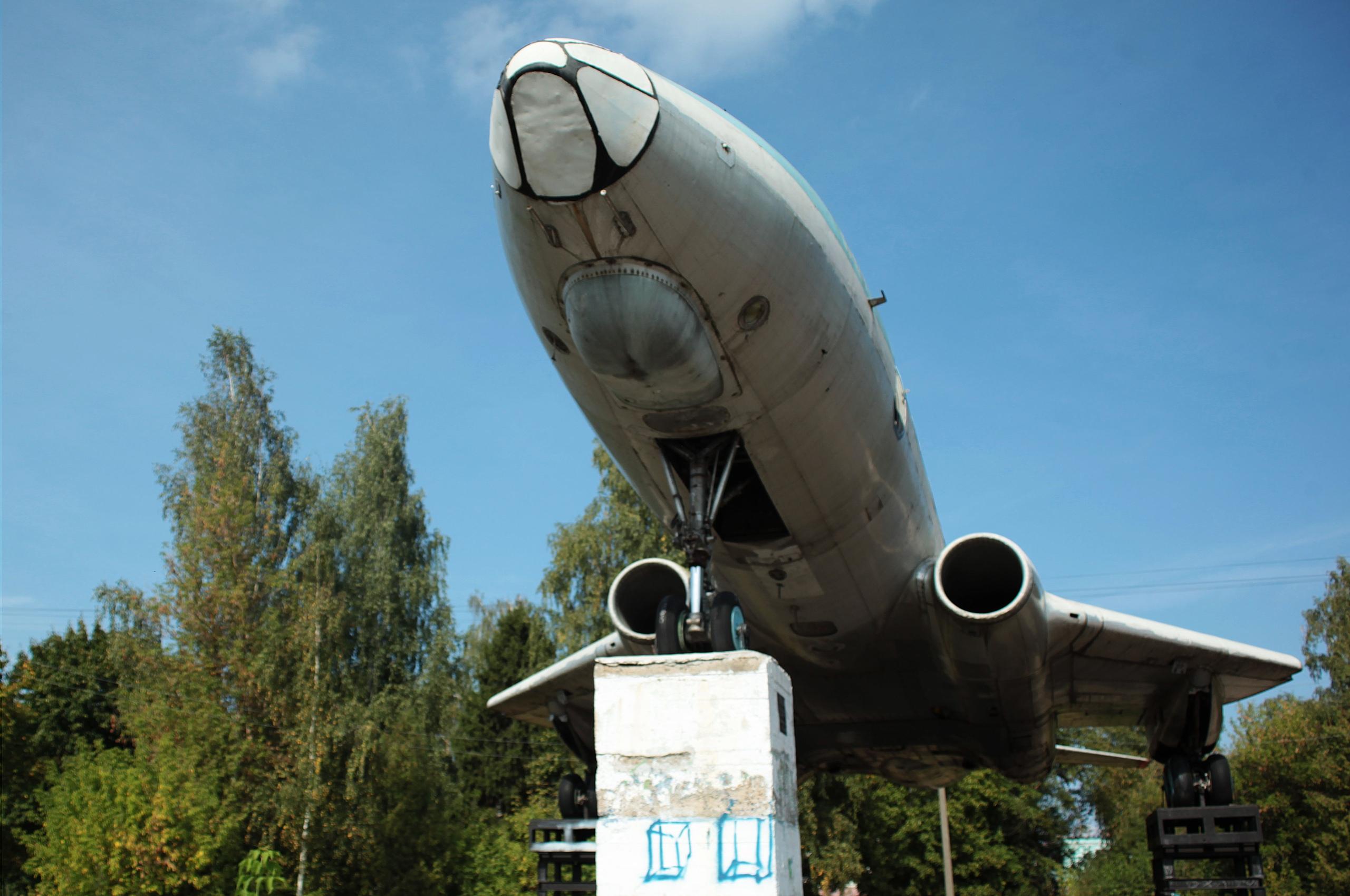 В Кимрах продолжается демонтаж самолета для переезда на новое место   Фото   Видео