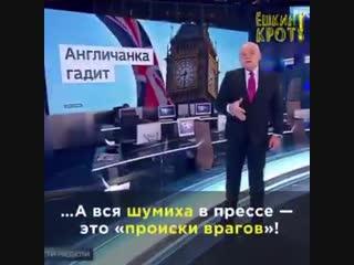 У патриотов России обычно семьи на вражеских Западах