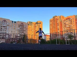 Артур Ахметов | футбольный фристайл #2