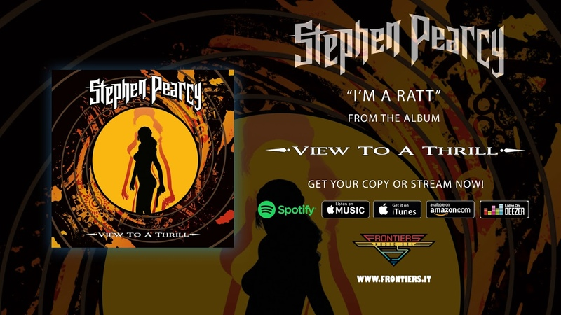 Stephen Pearcy - Im A Ratt (Official Audio)