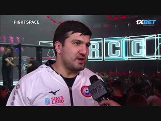 Олимпийский чемпион по дзюдо Тагир Хайбулаев на турнире RCC 5