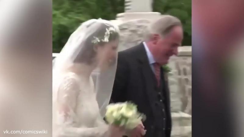 Эксклюзивные кадры со свадьбы Кита Харингтона и Роуз Лесли 😍