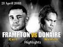 Carl Frampton vs Nonito Donaire (Highlights)_HD