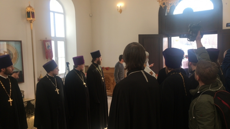 Патриарх Кирилл в Гагино