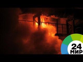 Взрыв газового баллона на заводе в Петербурге: есть погибший и раненые - МИР 24