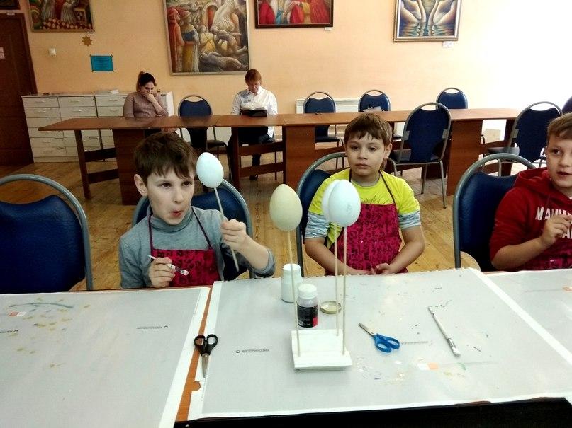 пасхальный мастер-класс - декупаж на деревянных яйцах
