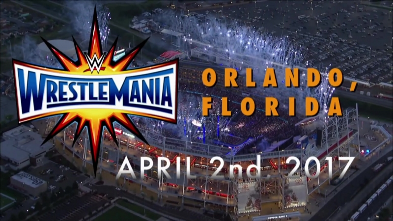 Промо WrestleMania 33