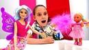 Барби фея учит Штеффи писать. Новинка для девочек