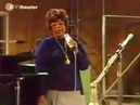 Ella Fitzgerald sings How High the Moon and Some of These Days in studio 1974