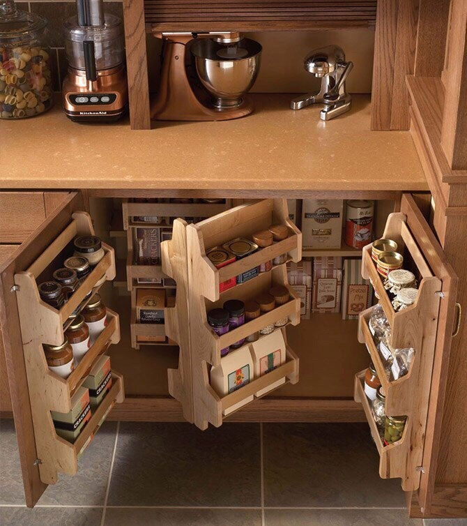 Эргономичные шкафчики